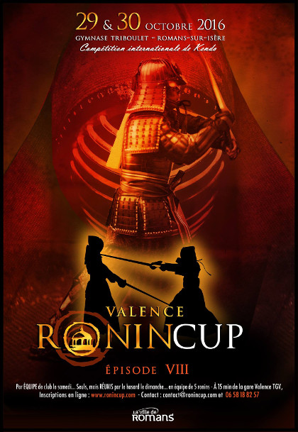 Affiche Ronin Cup 2016